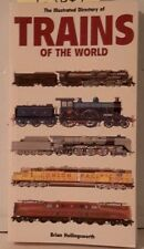 Illustrated Directory Trains of the World Softcover Book-480 pgs-FREE S&H(C5049)