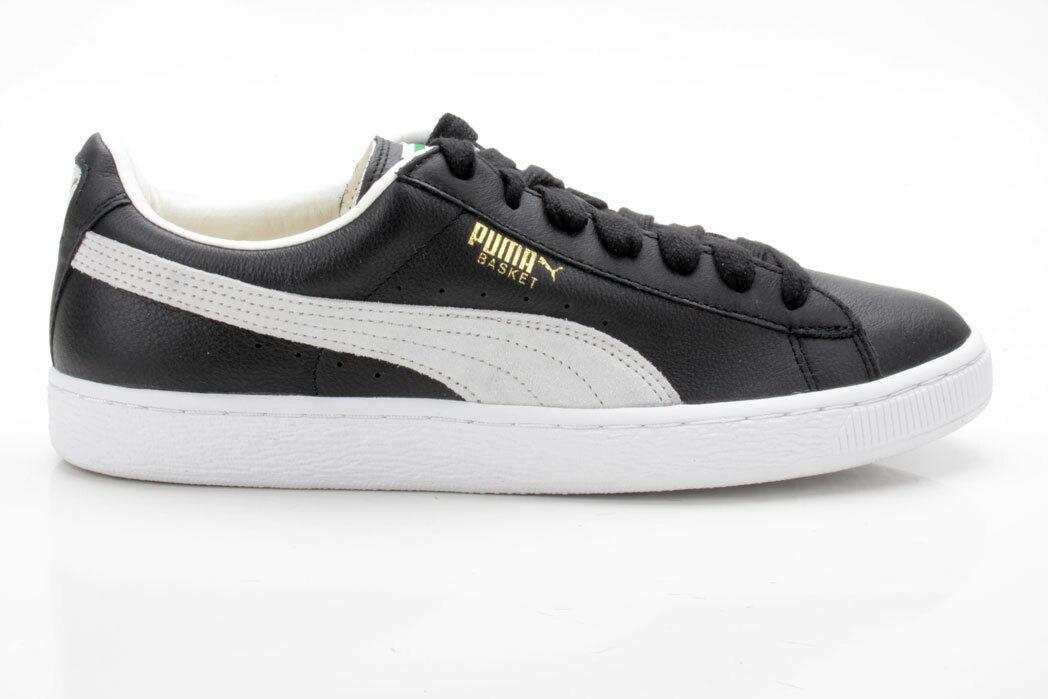 Puma Basket Classic 351912 02 negras-blancoo