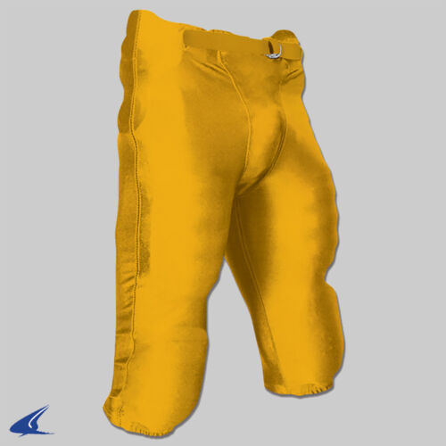 Champro Integrated Senior Football Game Pants With Pads - Gold (NEW) Lists @ $25