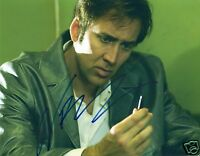 NICOLAS CAGE AUTOGRAPH SIGNED PP PHOTO POSTER