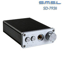 SMSL SD-793II DIR9001+PCM1793+OPA2134 Coax/Optical MINI DAC+Headphone Amp S