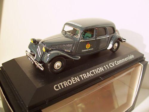 CITROËN TRACTION 11cv COMMERCIALE 1 43 Norev 153047 voiture miniature collection