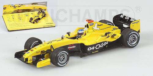 Minichamps Jordan EJ14 2004 1 43 43 43  18 Heidfeld 'SEASON LIVERIES′ TEAM JORDAN 2004 b577d7