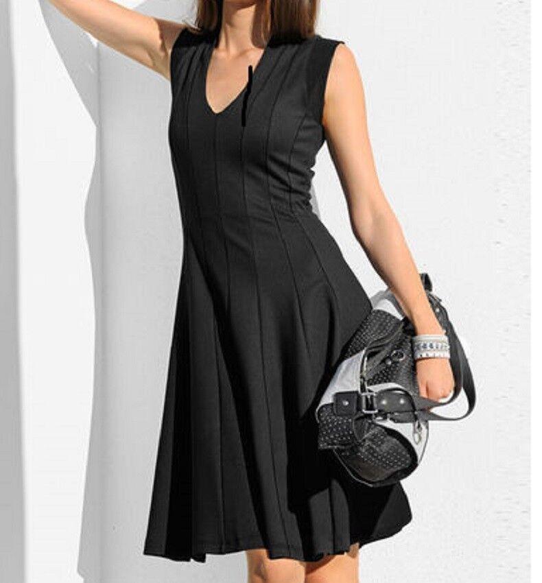 2ed10d5c7491 ... Pleated Slit Dress Size 10 · Securities. FREIZEITKLEID ABENDKLEID  SOMMERKLEID KLEID black GR 36 NEU