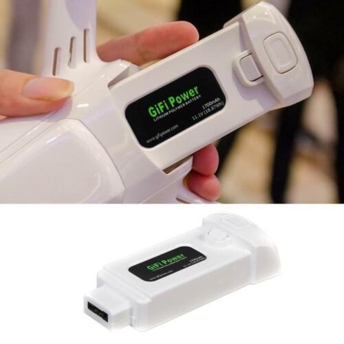 2x11,1 V 1700mAh 18,87Wh 3S LiPo-Batterie Ersatzbatterie für Yuneec Breeze Drone