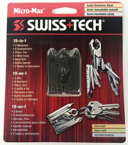 Swiss Tech Micro-Max 19-in-1 Tool Set