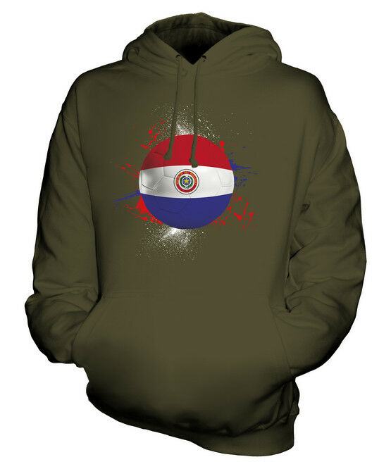 PARAGUAY FOOTBALL UNISEX HOODIE TOP GIFT WORLD CUP SPORT