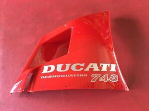 D36 Ducati 748 916 996 Seitenverkleidung Seiten Verkleidung oben rechts