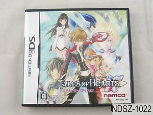 Tales-of-Hearts-Anime-Movie-Edition-NDS-Japanese-Import-Nintendo-DS-US-Seller-A
