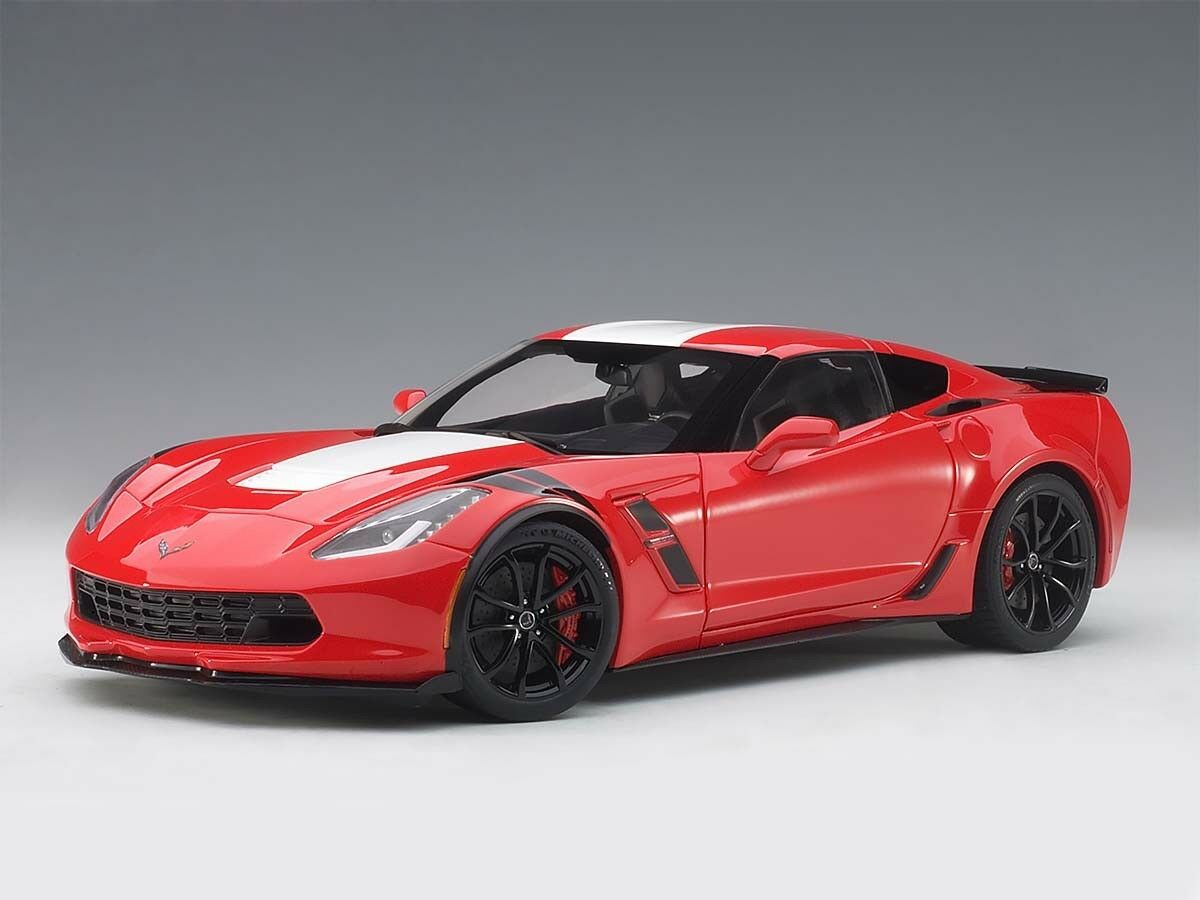 2017 Corvette C7 Grand Sport in red Modell in 1 18 von Autoart 71274