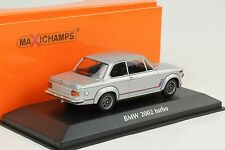 1973 BMW 2002 turbo silber 1:43 Minichamps  / Maxichamps