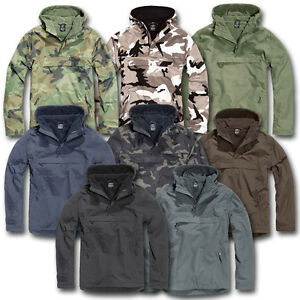 7c340fdd3 Image is loading BRANDIT-WINDBREAKER-JACKET -WINDPROOF-WATERPROOF-MILITARY-STYLE-ARMY