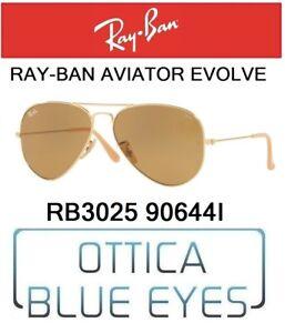 707f8aca8a7 Image is loading RAYBAN-RB-3025-90644i-Aviator-Evolve-Photochromatic- Sunglasses-