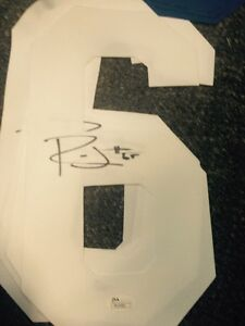 check out 571bb ab340 Details about Ronald Leary autographed Dallas Cowboys Jersey Number White  Jsa
