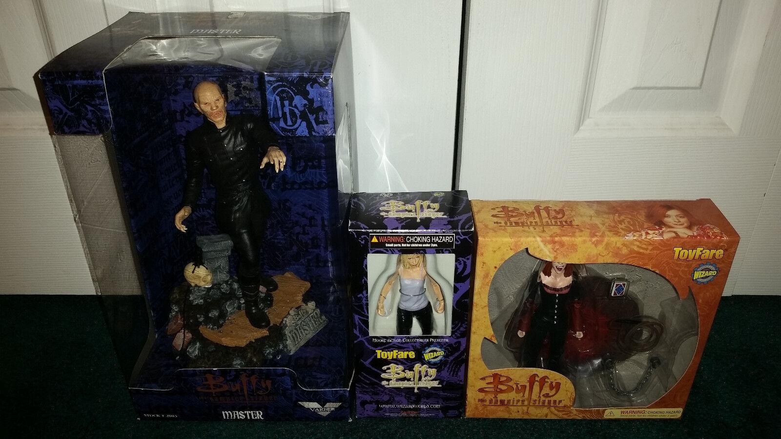 Buffy The Vampire Slayer Moore Varner Toyfare Wizard Master 9  Willow Vampire
