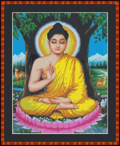 Buddha Punto Croce Kit