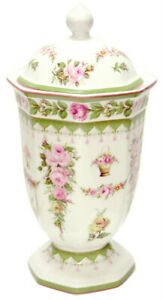 Victorian-Rose-Design-Ceramic-Jar-with-Lid-26cms-AU-Shop