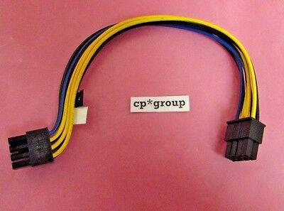 "DG48R Genuine Dell PowerEdge M610x 8/"" GPU 8-Pin Power Cable"