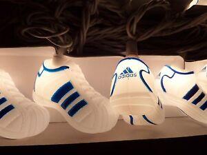 New-Adidas-String-Lights-Shell-Toe-Samba-Shoes-Set-10-Christmas-Vtg-Rare-10-Feet