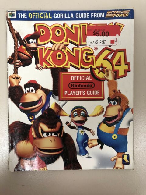 Windsor resale donkey kong 64 game prima strategy guide.
