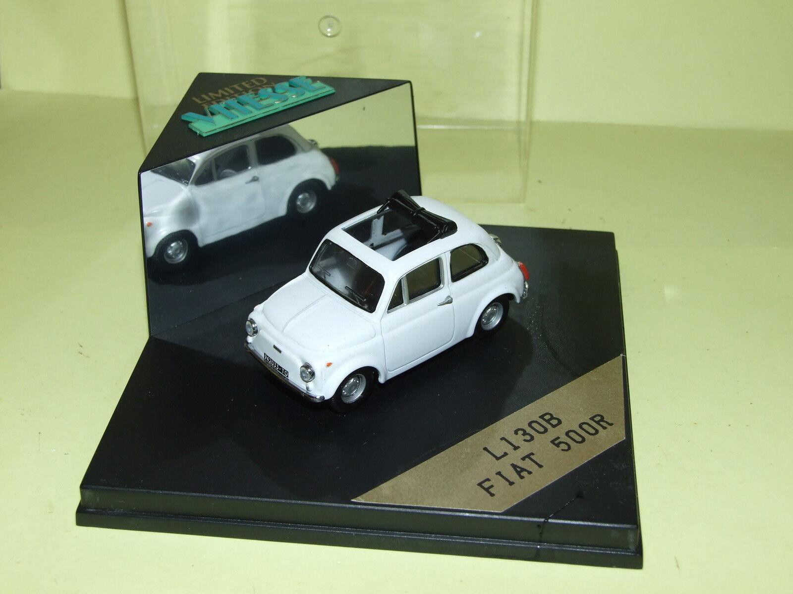 FIAT 500 R R R whitehe  VITESSE L130B f722ae