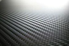 Vinyl Wrap Car Wrapping with air drain  3D Black Carbon Fiber Price Per Meter