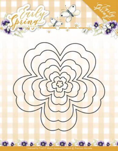 Precious Marieke principios de la primavera de corte Die-Flores de primavera anidación Die 7 un.
