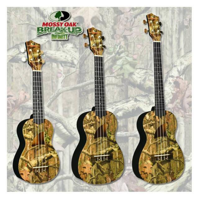 Eddy Finn Mossy Oak Concert Ukulele For Sale Online Ebay