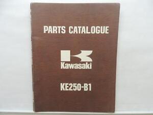 1977 Kawasaki Motorcycle Parts Catalog Ke250 B1 Book Shop Manual L7895 Ebay