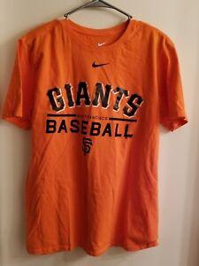 San-Francisco-Giants-Nike-T-Shirt-MLB-Baseball-size-Large