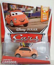 Disney Pixar Cars Die-Cast Car Cartney Carsper Race Fans New