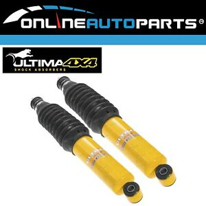 2 Front Gas Shock Absorbers Colorado RC, D-Max, Great Wall V240 X240 2008-2013