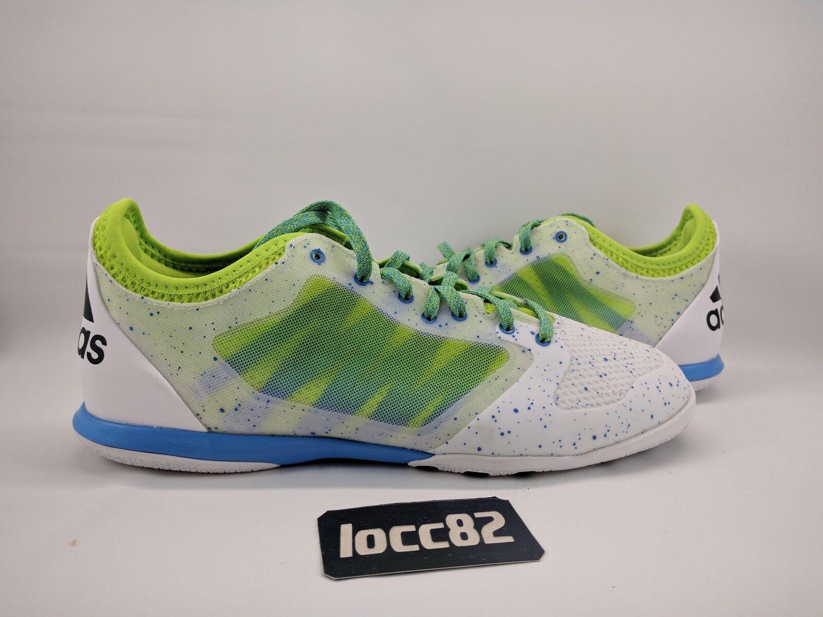 Adidas x 15,1 - indoor scarpe sz 10,5 - 15,1 af4809] il calcio al tribunale 88d2d0