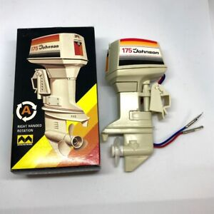 Details about MITSUWA Johnson 175 Type A Right Handed Rotation Toy Outboard  motor from Japan