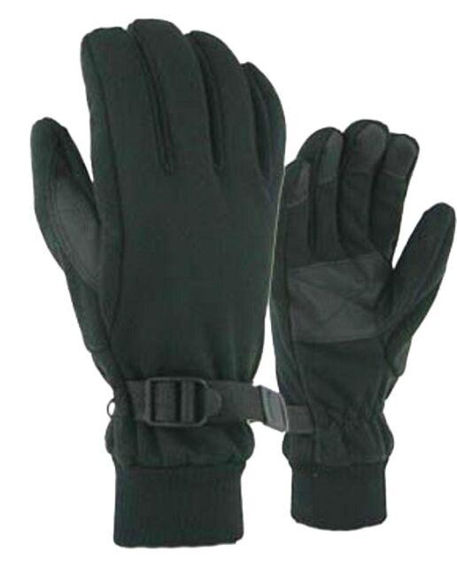 Boys Black Bec-Tech® Fleece Sport Winter Snow Gloves Waterproof Windproof #37147