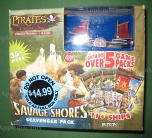 NEW-Wizkids-Pirates-CSG-Savage-Shores-Scavenger-Pack-Booster-Box-w-Promo-Ship-SC