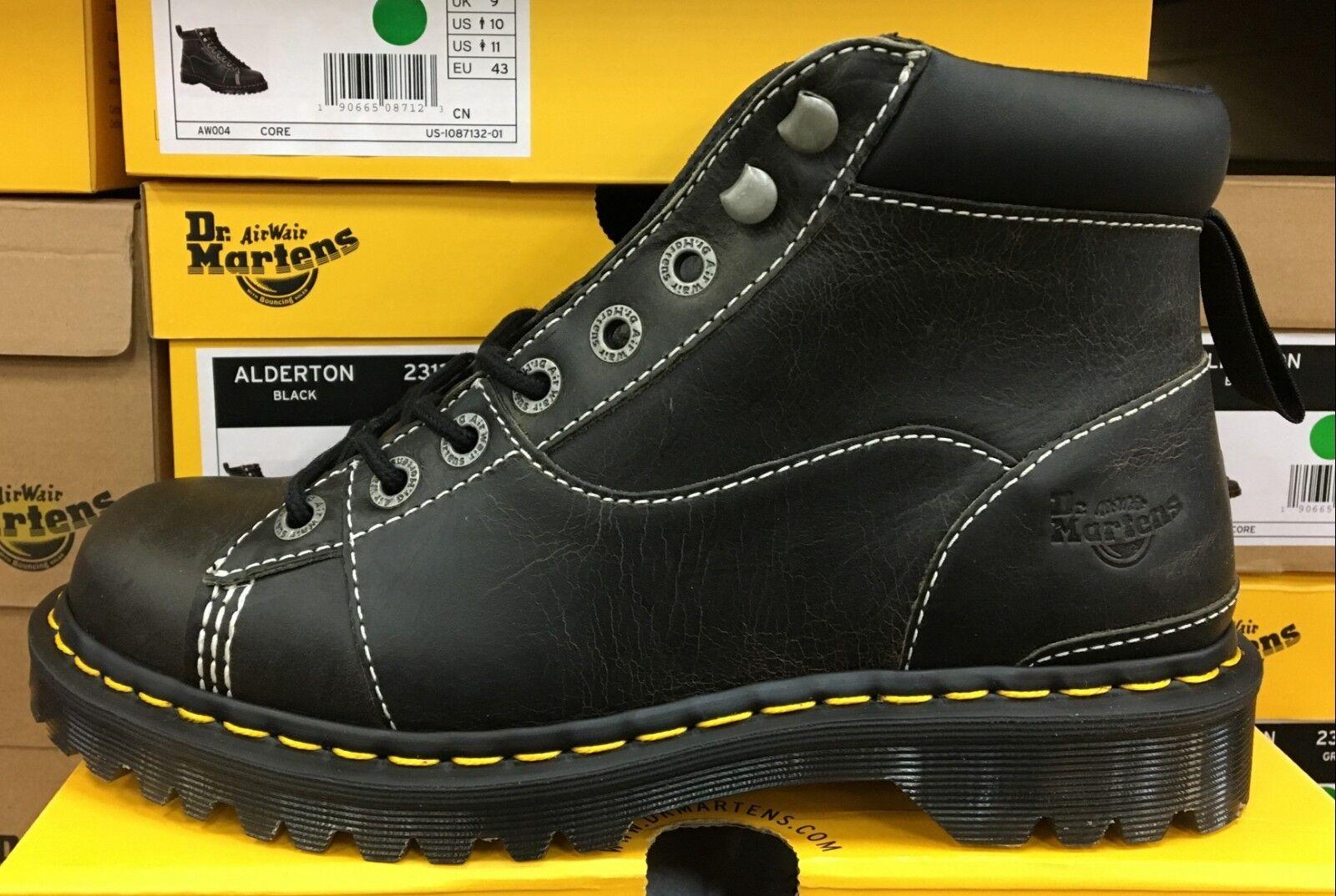 Sale Sale Sale   Dr. Martens ALDERTON  Greenland Unisex Worker Boots  23136001 Black  L 5f064a