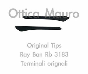 4123f22c770 RAY BAN 3183 EARSOCK TERMINALS MATTE BROWN - ORIGINAL REPLACEMENT RB ...