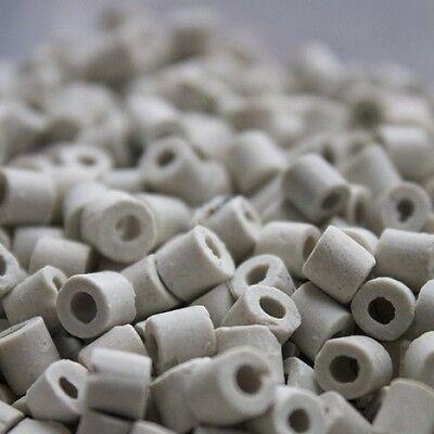 Ceramic Raschig Rings for Moonshine Reflux Column Packing - 1 Liter