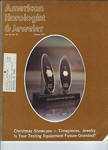 MF-073 - American Horologist & Jeweler Magazine Oct 1977 Testing Equipment
