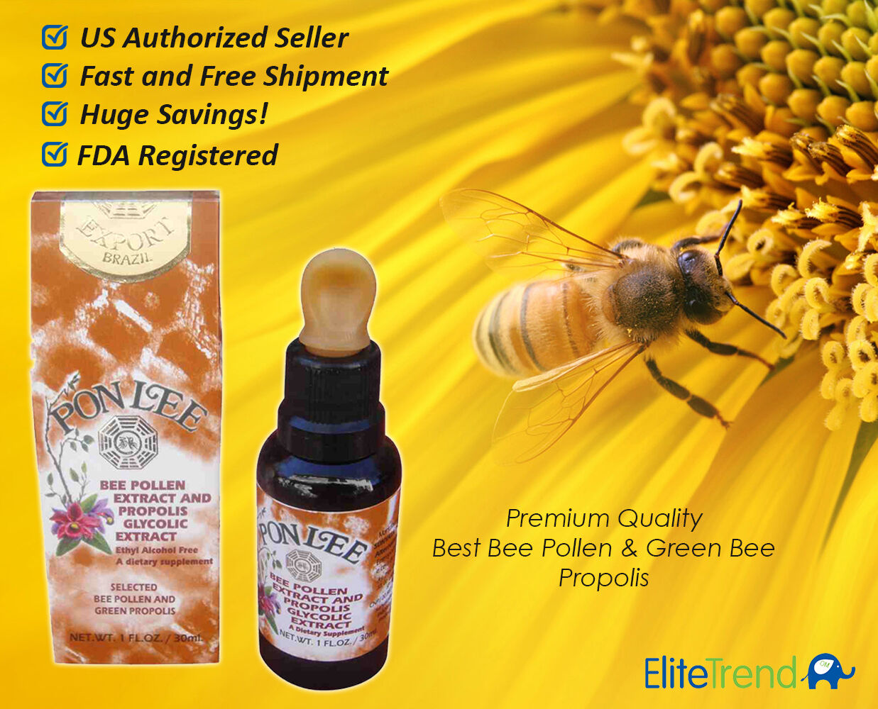 Extract of propolis