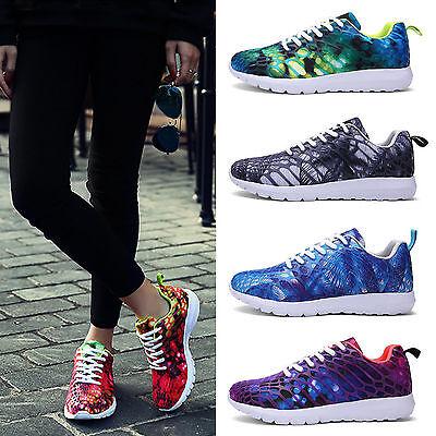 Unisex Women Men Comfortable Running Jogging Sport Sneakers Trainers Shoes 36-44