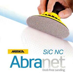 Mirka-Abranet-Sic-NS-Vidrio-Lijadora-Simple-Disco-125mm-12-7cm-Arenas-P80