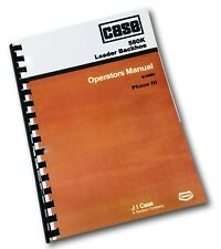 Case 580k Phase Iii Tractor Loader Backhoe Operators Manual Owners Three Book 3
