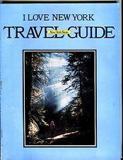 New York State Vintage I Love New York Travel Guide EX 051517nonjhe