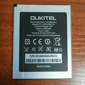Oukitel-C3-2000mAh-3-8V-Liion-Battery-For-Oukitel-C3-SmartPhone-Warranty