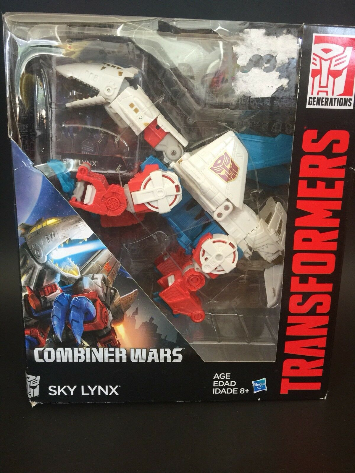 Authentic Transformers Generations Combiner Wars Sky Lynx Ships from USA