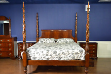 Marvelous Kincaid Furniture King Size Rice Carved Four Poster Evergreenethics Interior Chair Design Evergreenethicsorg