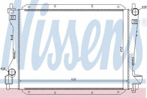 Radiatore motore NISSENS 66703 JAGUAR
