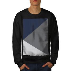 Formas Hombres Triángulo Nuevo Negro Sudadera xvBwqB